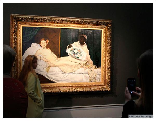 Олимпия Эдуарда Мане? шедевры мировой живописи