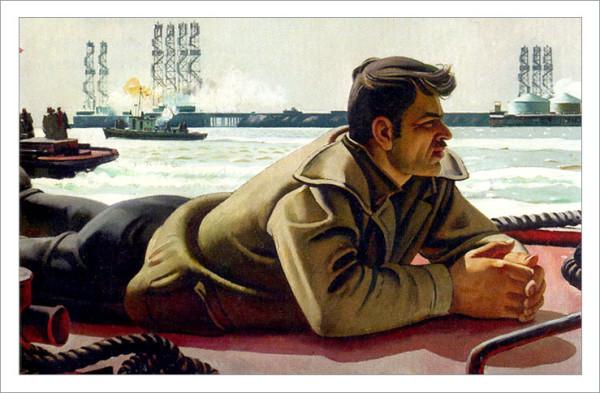 таир салахов, художники азербайджана, суровый стиль в живописи, третьяковка лаврушинский выставки