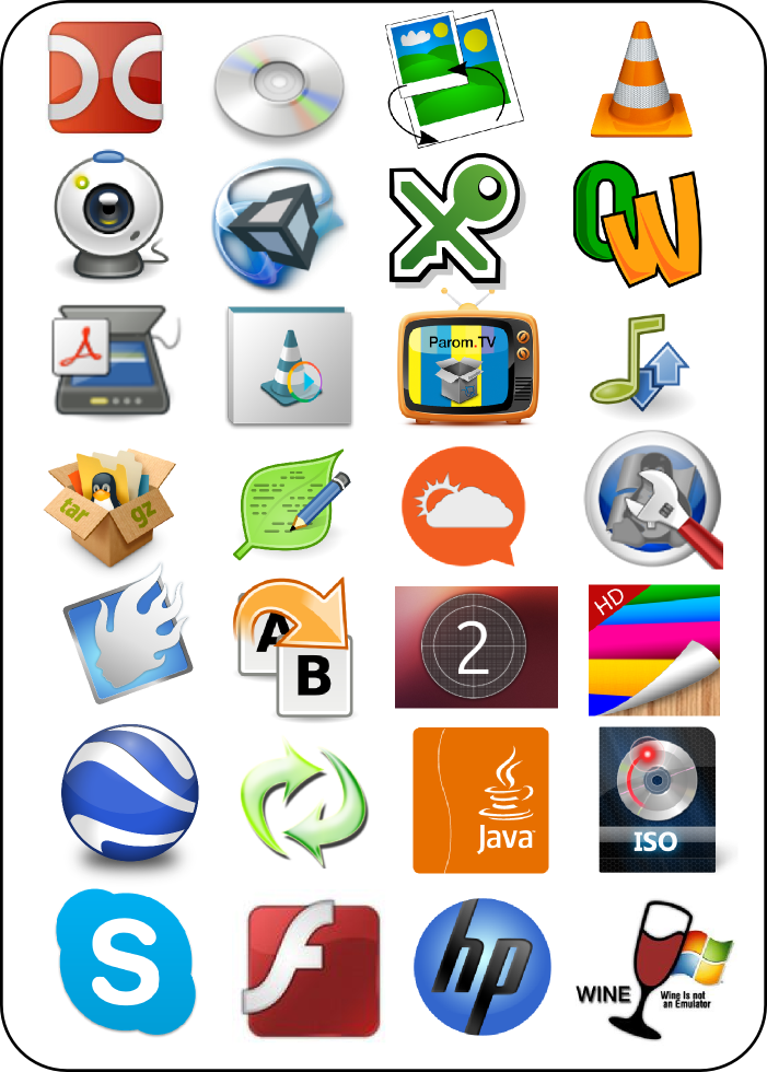 >Популярные программы Ubuntu