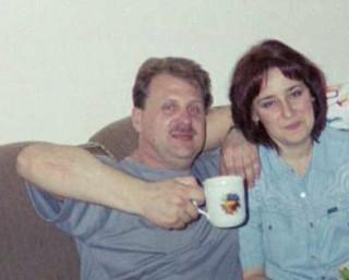 Андрей с женой
