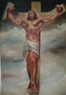 Jesus Christ by Boris Vallejo