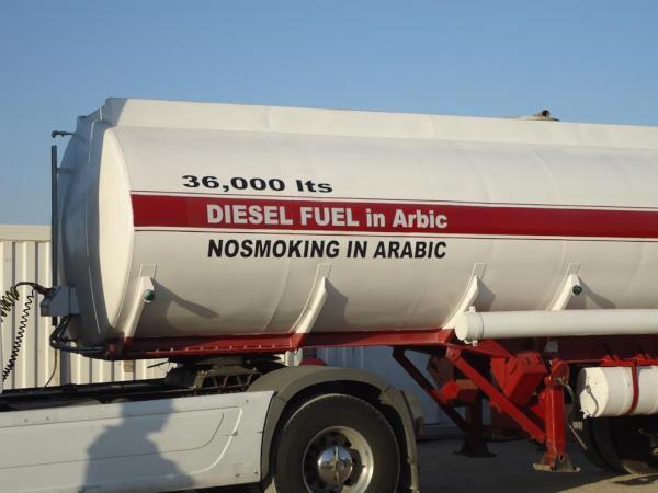 No smoking in Arabic