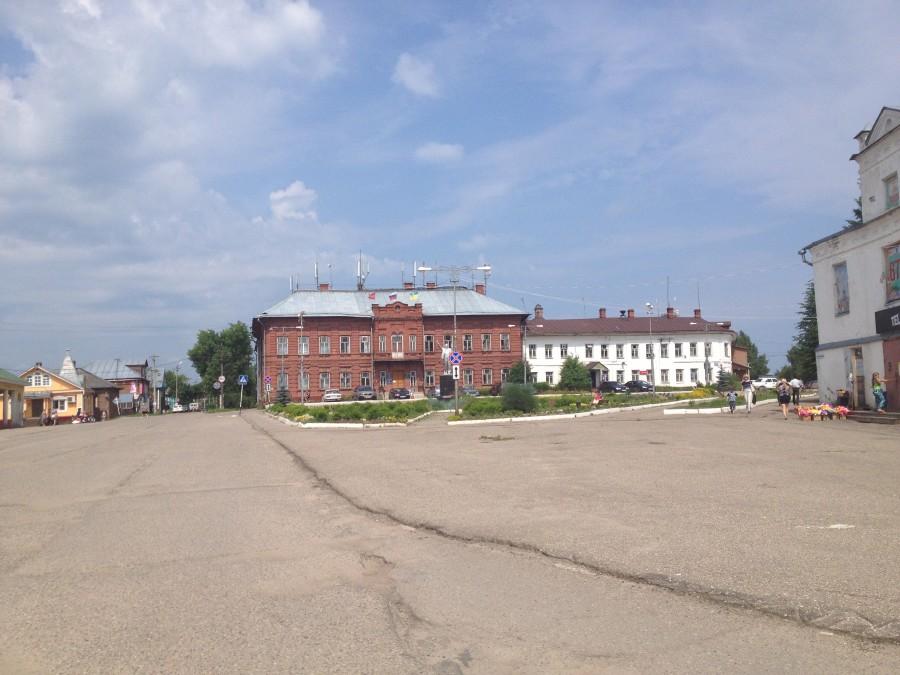 Центральная площадь Солигалич