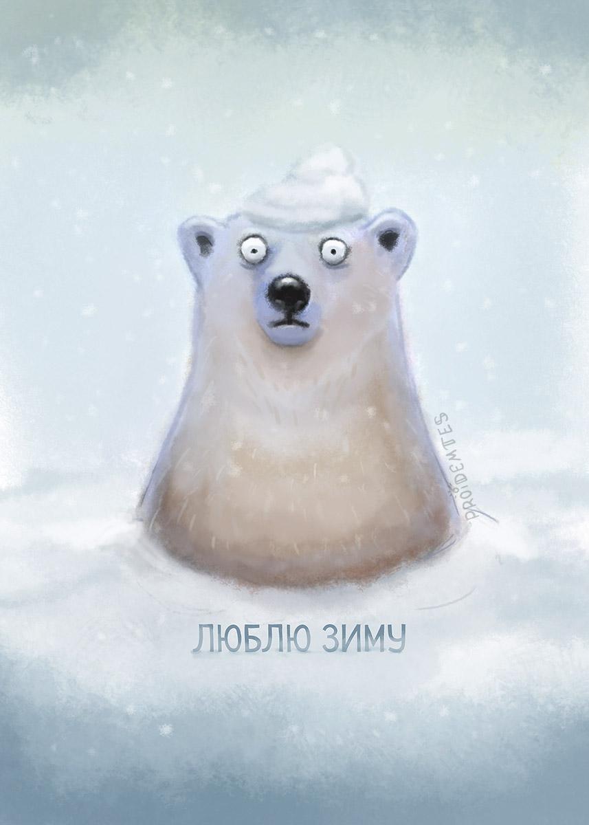 люблю зиму6