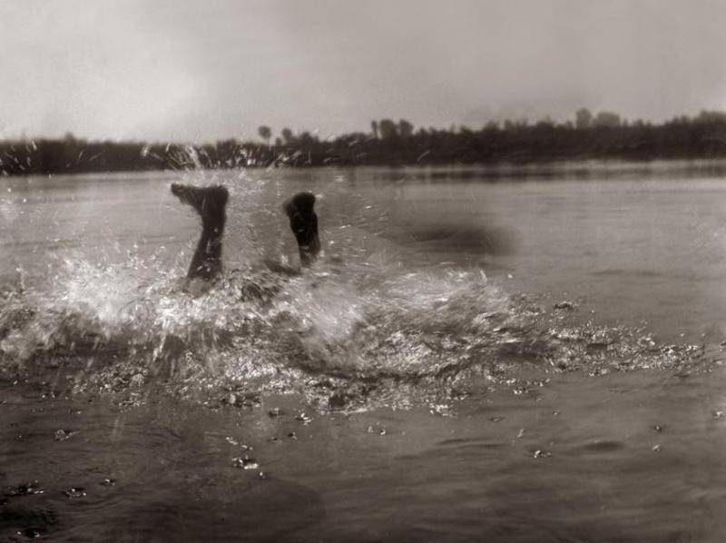 Войцех Вайс_нурка у воду_1900