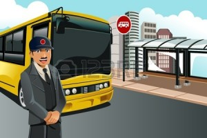 12145058-Иллюстрация-водитель-автобуса-стояли-в-передней-части.jpg