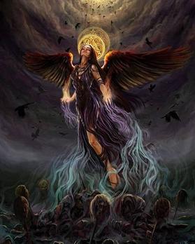 Морриган с крыльями