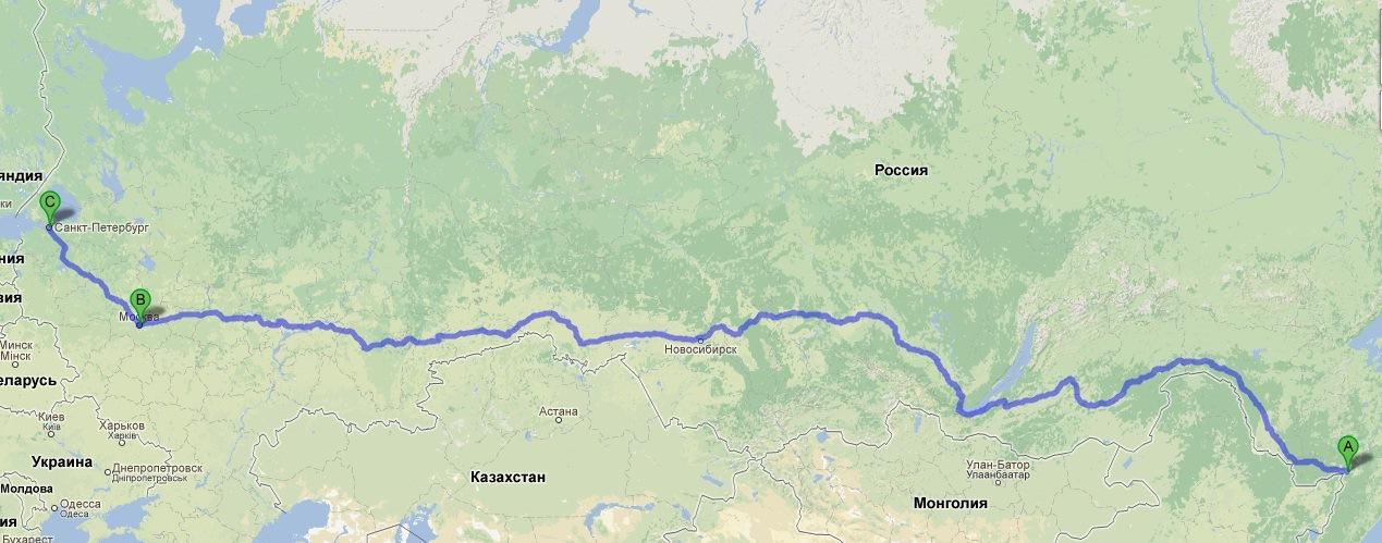 Хабаровск СПб