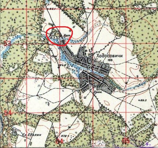 Ходосовии 1926 год 500 метр.