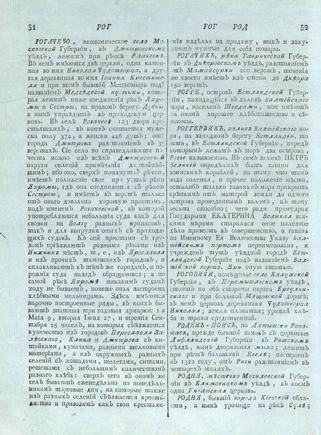 Рогачево Московская