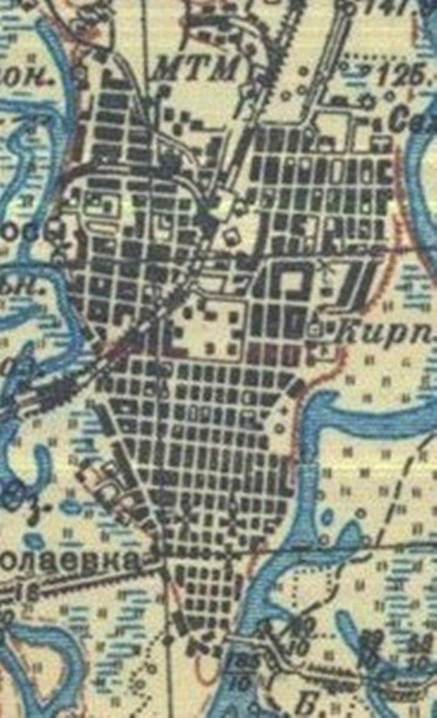 План Рогачева 1936 г