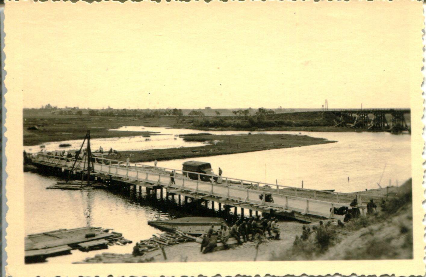 Мост в Рогачеве ВОВ