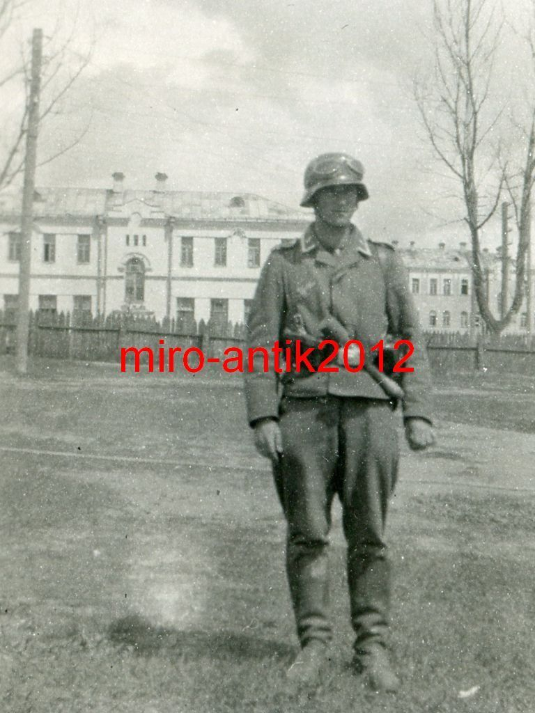 Солдат Вермахта в Рогачеве ВОВ