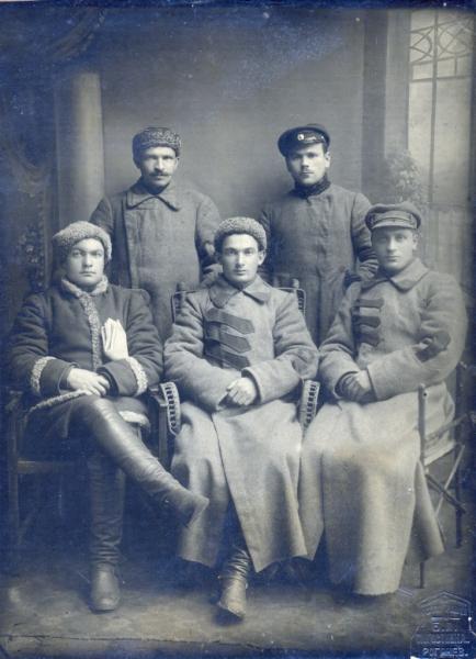 Сотрудники розыскного отделения Рогачевской милиции