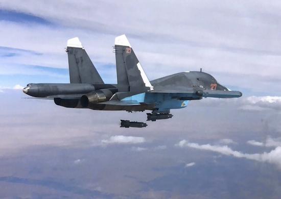 Су-34 с КАБ 500С  Сирии