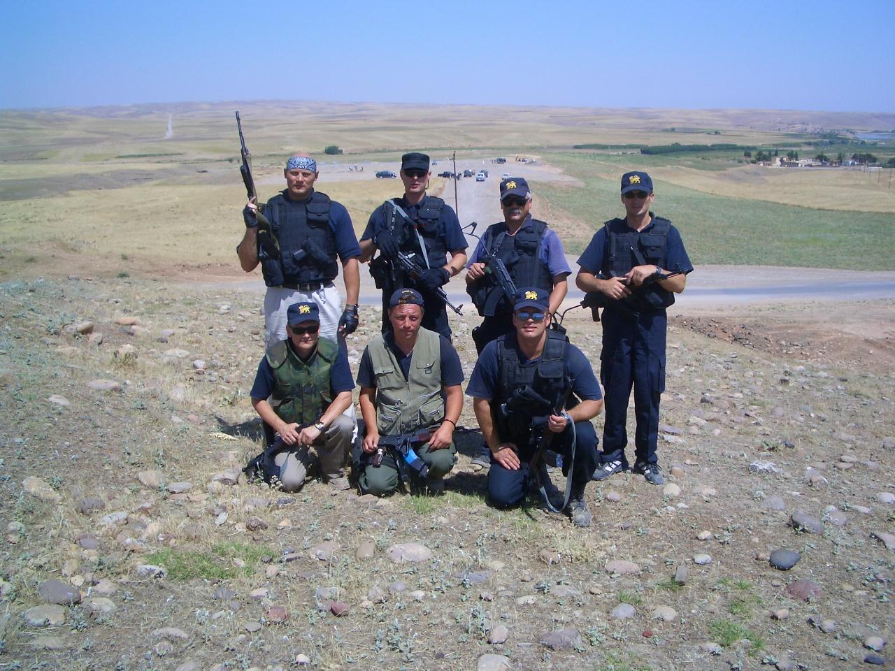 Group near camp