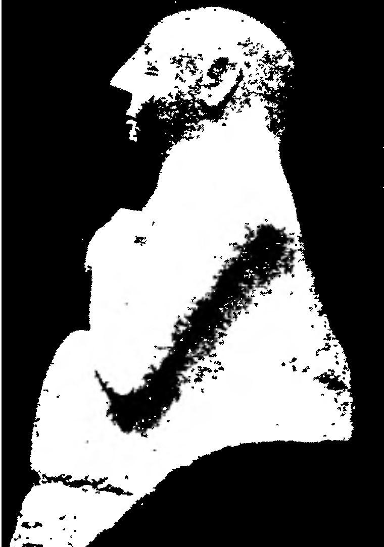 Каменная статуя раннешумерийского периода