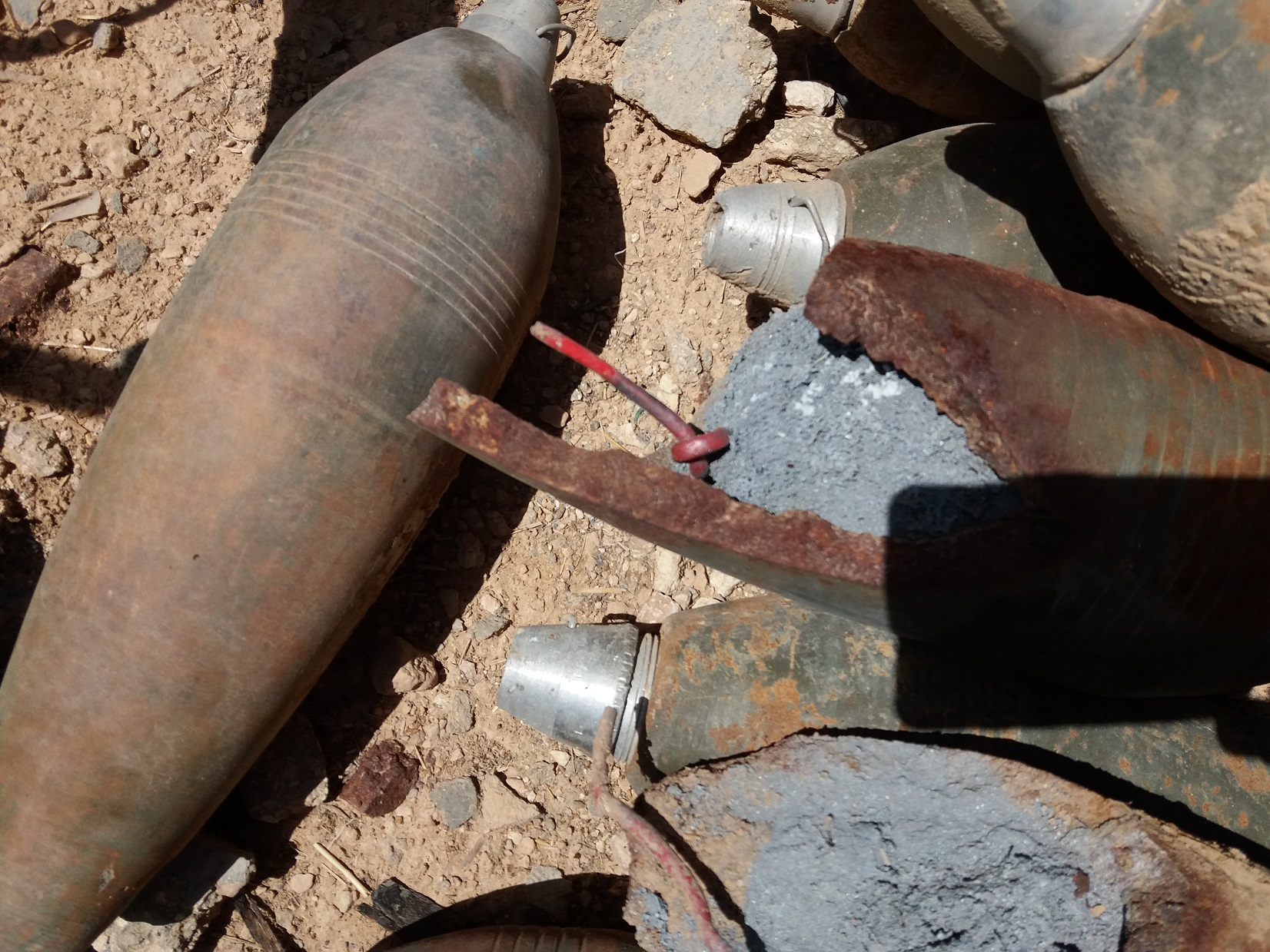 Improvised mortar gr 12