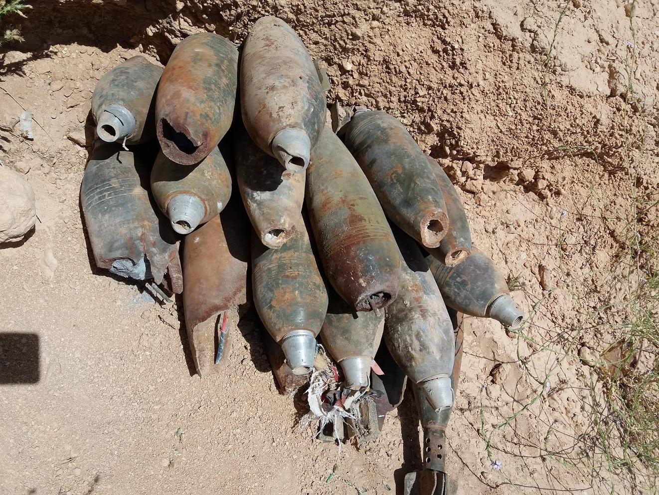 Improvised mortar gr 16