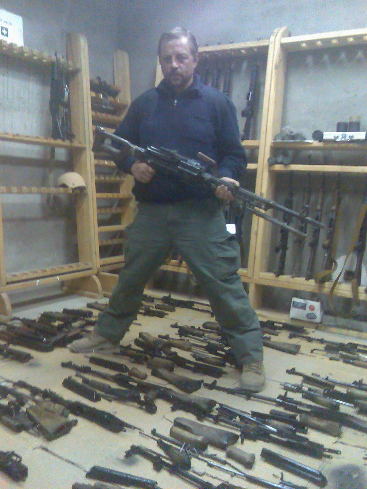 Oleg in Armory