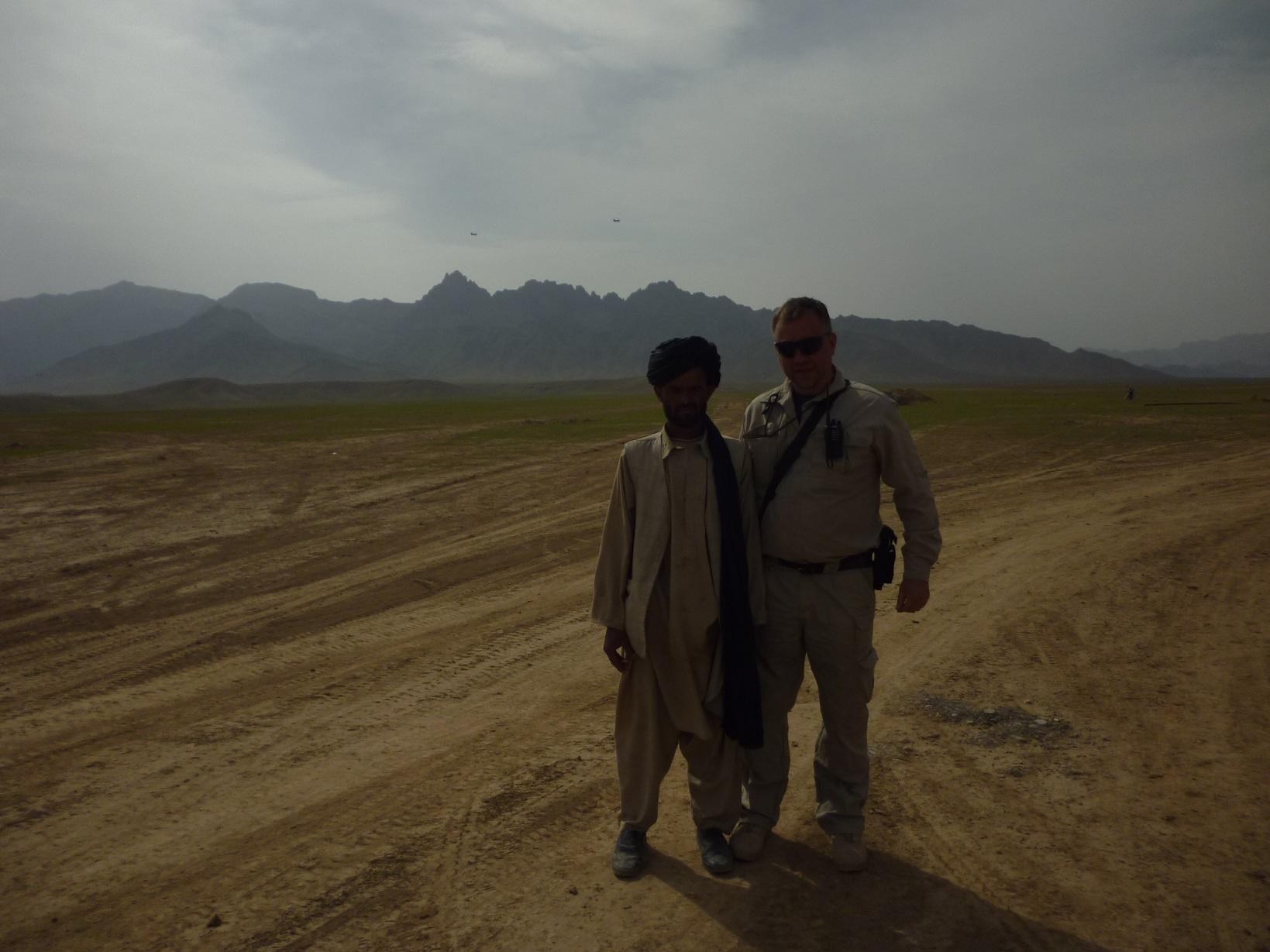 Oleg i afganec