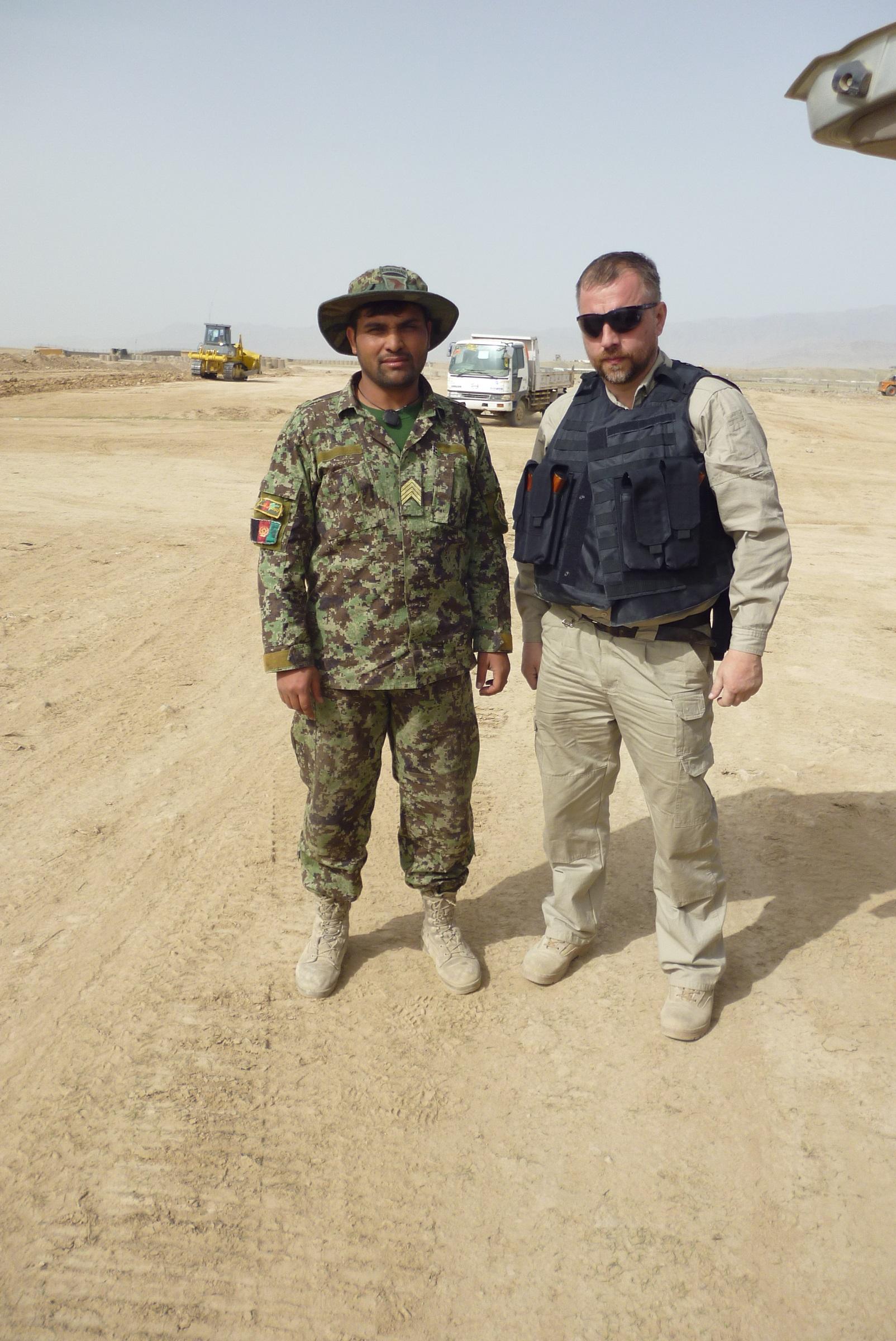 Oleg and ANA sergeant 1