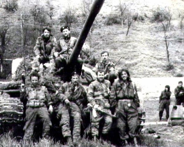 Shkrabov i grupa pod Gorazde