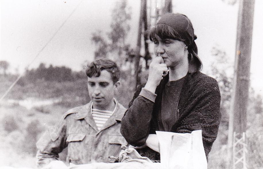 Svetlana i kapitan Oleg
