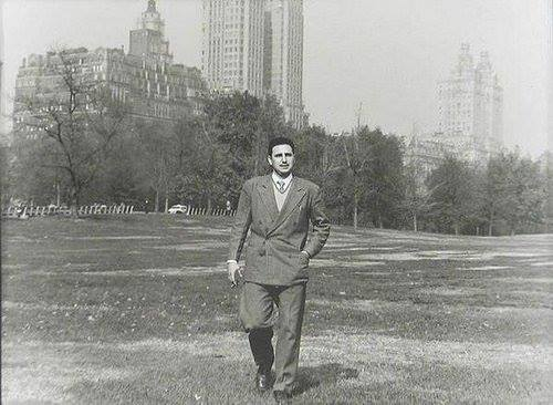Фидел Кастро у мирној шетњи Централ Парком, Њујорк, 1955.