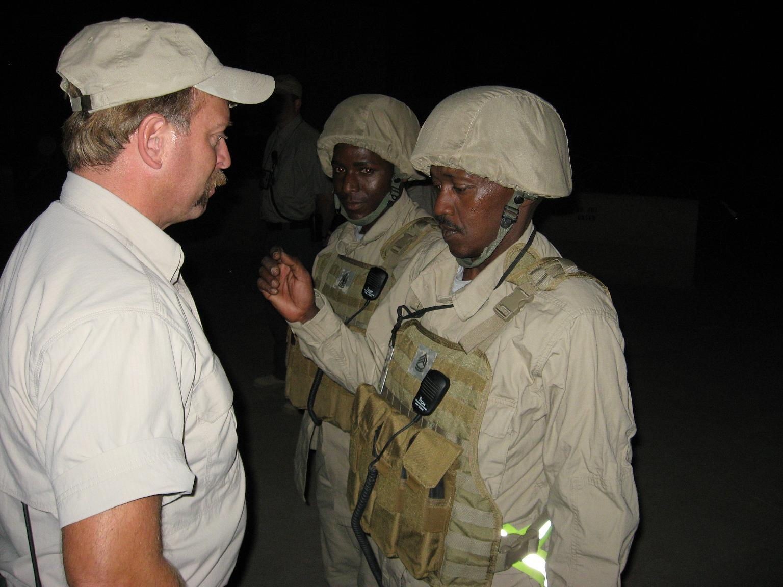 Bob promouted new Ugandan carporal