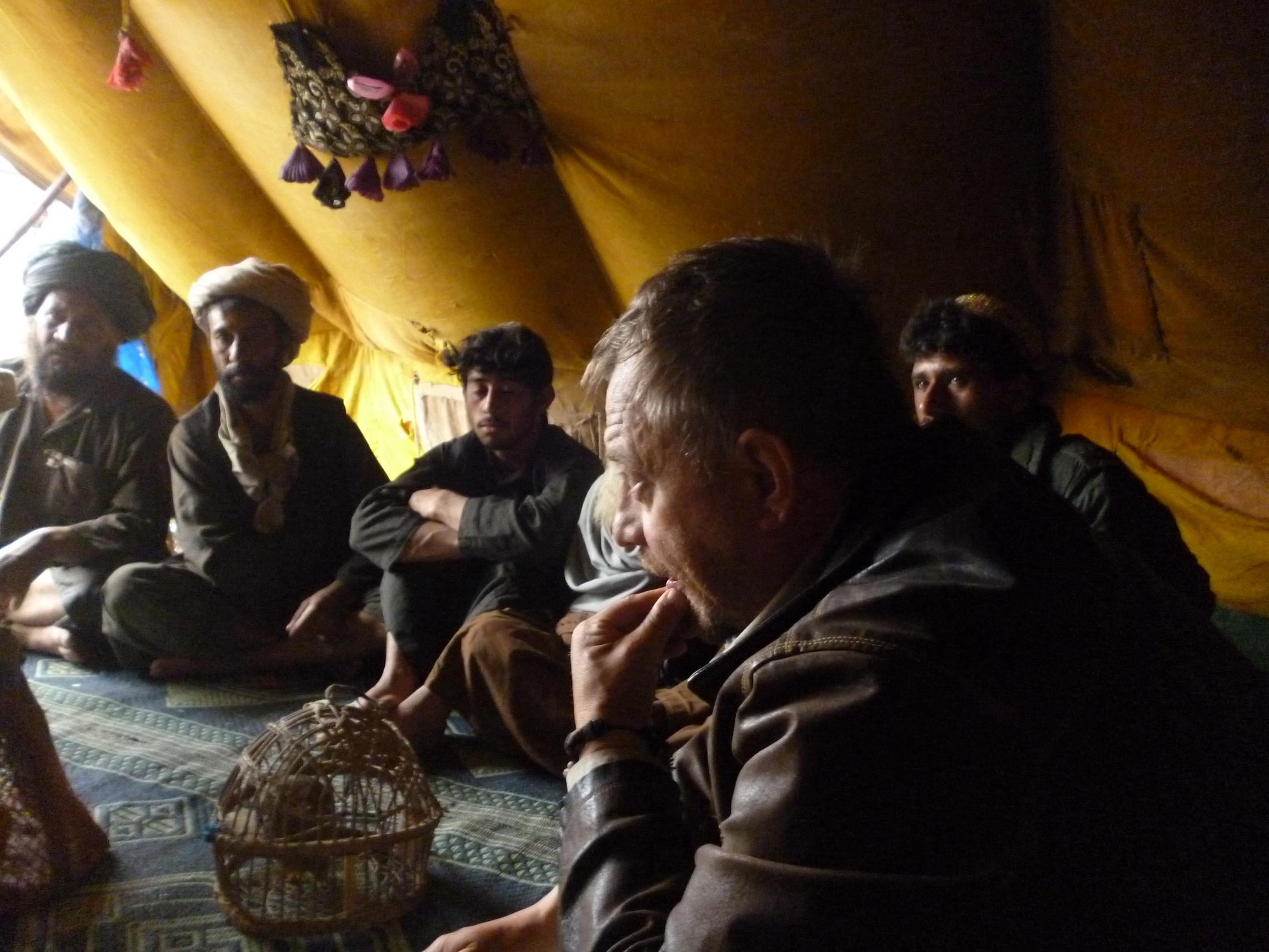 Среднеазиатские цыгане и Олег 2