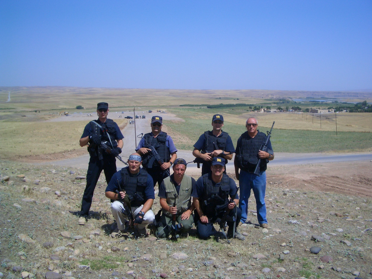 Group near Ifraz