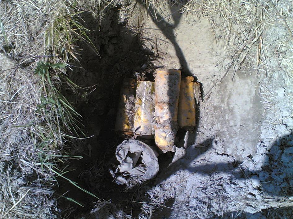 Bombe BLU 97B u rupe