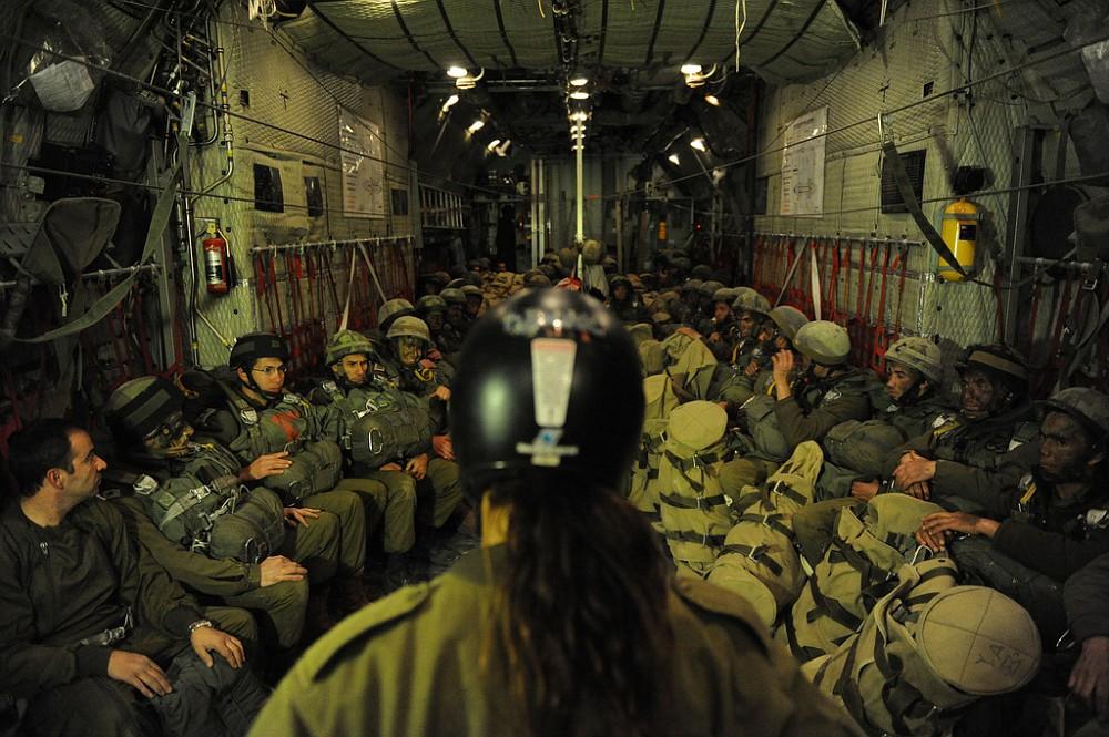 Israel paratroopers