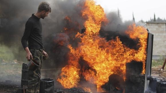 Повстанцы в Сирии торгуют некачественной нефтью