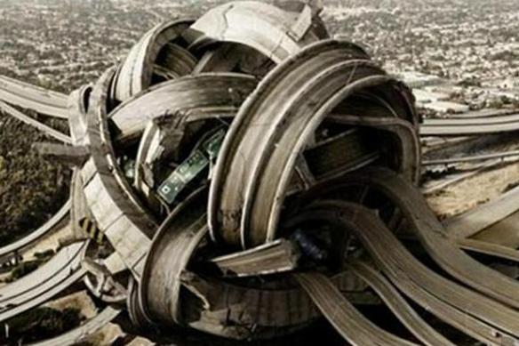 Самая запутанная автомобильная развязка
