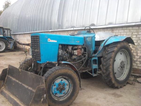 Трактор-кабриолет
