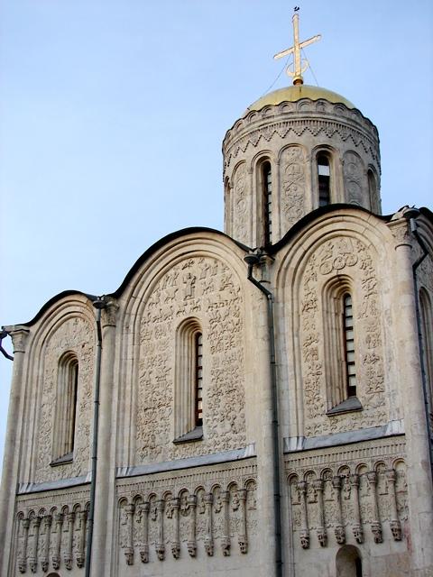 О резьбе Дмитриевского собора