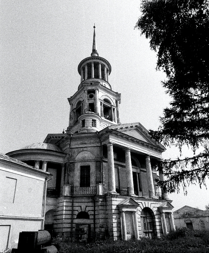 Торжок с Борисоглебской колокольни