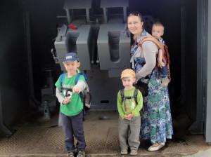 маша с сынами и эрго