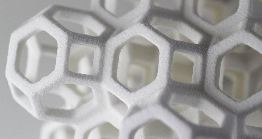 3D принтер печатает сахаром