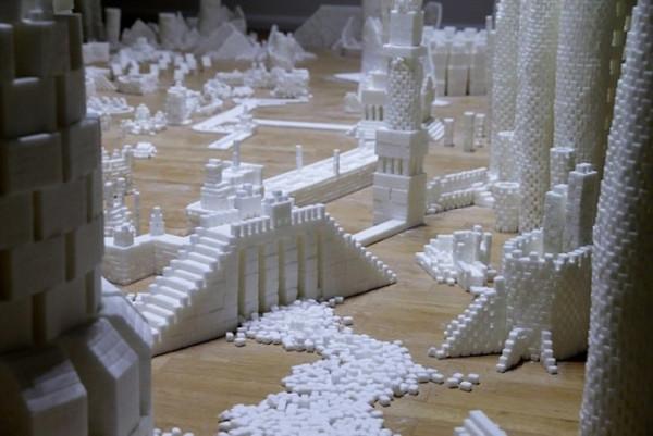 Сказочный город из сахара
