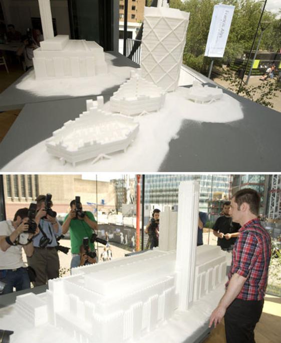Музей Tate Modern и близлежащий NEO Bankside из сахара рафинада