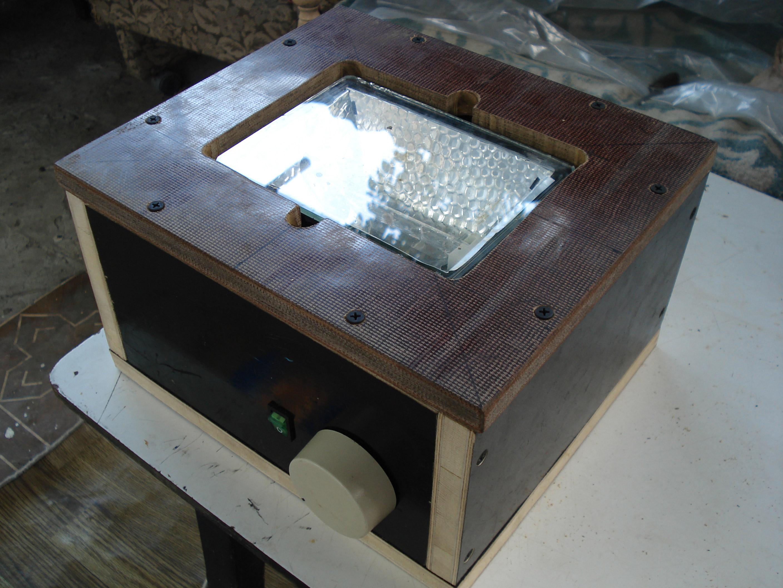 инфракрасный прожектор схема