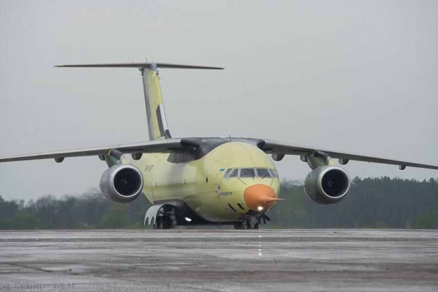Новый самолет Ан-178 успешно прошел испытания по загрузке самоходной техники - Цензор.НЕТ 5963