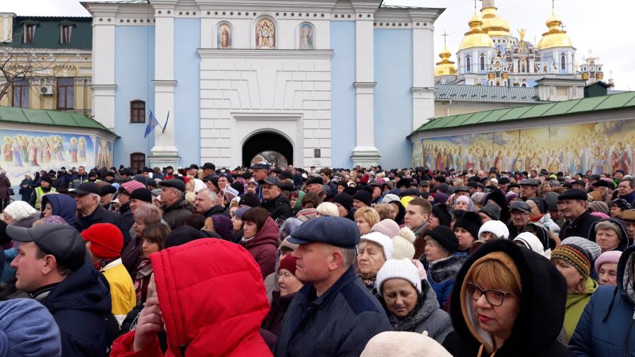 Выступление Президента Украины П. Порошенко в Киеве, фоторепортаж 20190317_105656