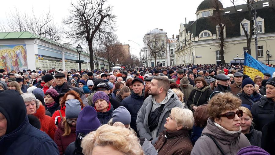 Выступление Президента Украины П. Порошенко в Киеве, фоторепортаж 20190317_105659