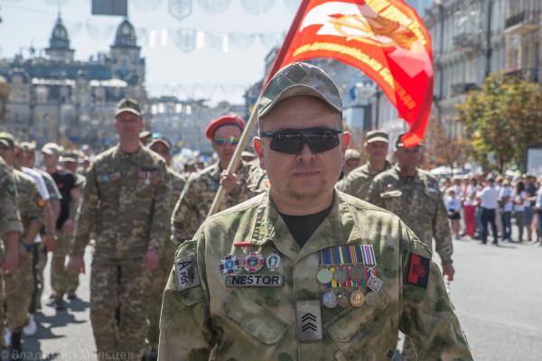 Марш Защитников Украины, Киев, 24.08.2019