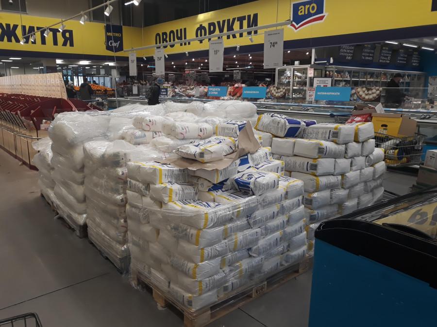 Карантин в Киеве. Поход по магазинам: чего нет, какие меры защиты, что с ценами