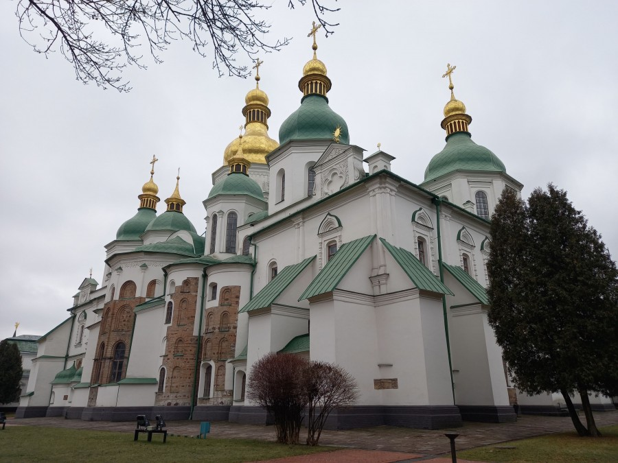 Грустный локдаунный Киев